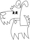 terrier coloring pages