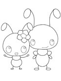 The Ants coloring page