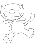 Toopy and Binoo coloring page