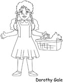 Wizard of Oz coloring page