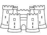 castle coloring pages