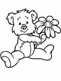 flowers coloring page