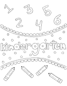 backpack coloring page
